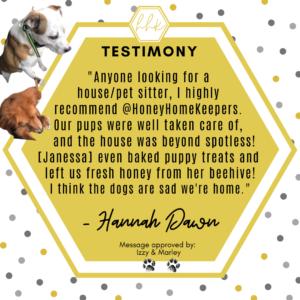 HHK Testimony - Hannah